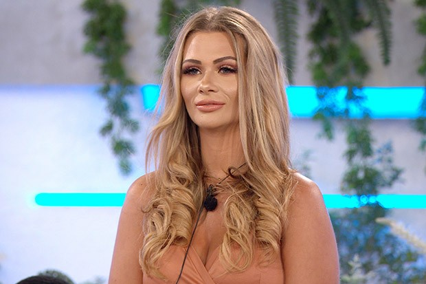 From ITV Studios  Love Island: SR6: Ep26 on ITV2  Pictured: Shaughna during the recoupling.  This photograph is (C) ITV Plc and can only be reproduced for editorial purposes directly in connection with the programme or event mentioned above, or ITV plc. Once made available by ITV plc Picture Desk, this photograph can be reproduced once only up until the transmission [TX] date and no reproduction fee will be charged. Any subsequent usage may incur a fee. This photograph must not be manipulated [excluding basic cropping] in a manner which alters the visual appearance of the person photographed deemed detrimental or inappropriate by ITV plc Picture Desk.  This photograph must not be syndicated to any other company, publication or website, or permanently archived, without the express written permission of ITV Picture Desk. Full Terms and conditions are available on the website www.itv.com/presscentre/itvpictures/terms  For further information please contact: james.hilder@itv.com / 0207 157 3052
