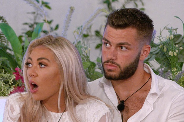 Love Island's Paige and Finn (©ITV)
