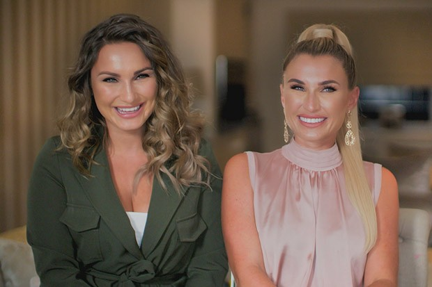 This image is strictly embargoed until 00.01 Tuesday 18th February 2020  From ITV  Sam & Billie Faiers: The Mummy Diaries on ITVBe Series 7 Episode 1  Pictured: Sam and Billie.  This photograph is (C) ITV Plc and can only be reproduced for editorial purposes directly in connection with the programme or event mentioned above, or ITV plc. Once made available by ITV plc Picture Desk, this photograph can be reproduced once only up until the transmission [TX] date and no reproduction fee will be charged. Any subsequent usage may incur a fee. This photograph must not be manipulated [excluding basic cropping] in a manner which alters the visual appearance of the person photographed deemed detrimental or inappropriate by ITV plc Picture Desk.  This photograph must not be syndicated to any other company, publication or website, or permanently archived, without the express written permission of ITV Picture Desk. Full Terms and conditions are available on the website www.itv.com/presscentre/itvpictures/terms  For further information please contact: iwona.karbowska@itv.com / 0207 157 3043