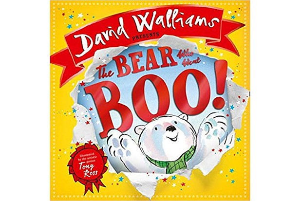 The Bear Who Went Boo by David Walliams