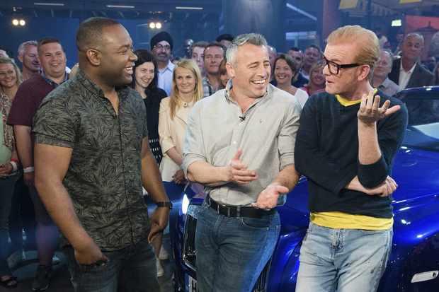 Chris Evans hosting Top Gear