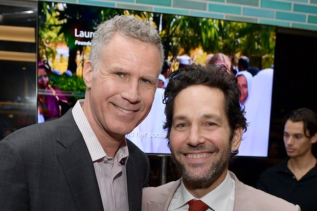 Will Ferrell and Paul Rudd