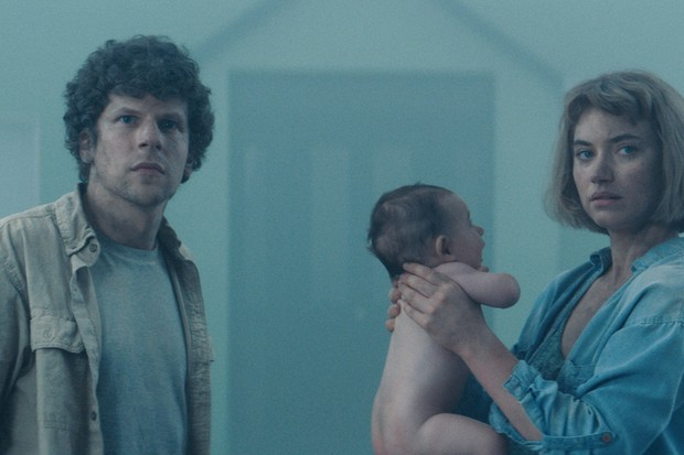 On their search for the perfect home, Gemma (Imogen Poots) and Tom (Jesse Eisenberg) visit a new house in a labyrinthine suburban neighbourhood. When they attempt to leave, each road mysteriously takes them back to where they started, leading them on a mind-bending trip, trapped in a surreal nightmare.