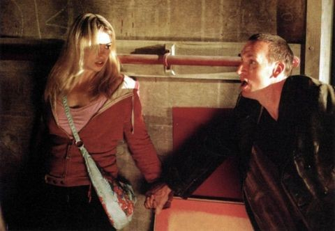 Billie Piper and Christopher Eccleston in Doctor Who (BBC)