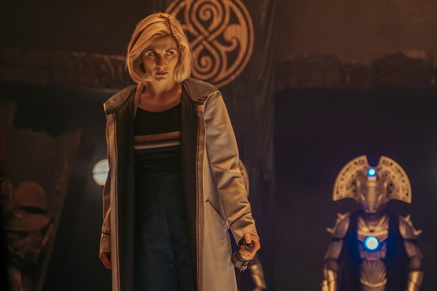 WARNING: Embargoed for publication until 20:00:01 on 02/03/2020 - Programme Name: Doctor Who Series 12 - TX: 01/03/2020 - Episode: n/a (No. 10) - Picture Shows: ++POST TX++ **STRICTLY EMBARGOED UNTIL 02/03/2020 20:00:01** The Doctor (JODIE WHITTAKER) - (C) BBC - Photographer: James Pardon