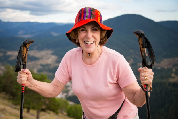 Programme Name: Pilgrimage: The Road to Istanbul - TX: n/a - Episode: Pilgrimage: The Road to Istanbul - ep 3 (No. 3) - Picture Shows:  Edwina Currie - (C) CTVC - Photographer: Oliver Rose