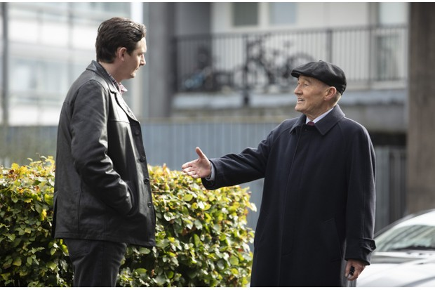 WARNING: Embargoed for publication until 00:00:01 on 14/03/2020 - Programme Name: The Nest - TX: n/a - Episode: n/a (No. 1) - Picture Shows: L-R James (JAMES HARKNESS), Souter (DAVID HAYMAN) - (C) Studio Lambert - Photographer: Mark Mainz