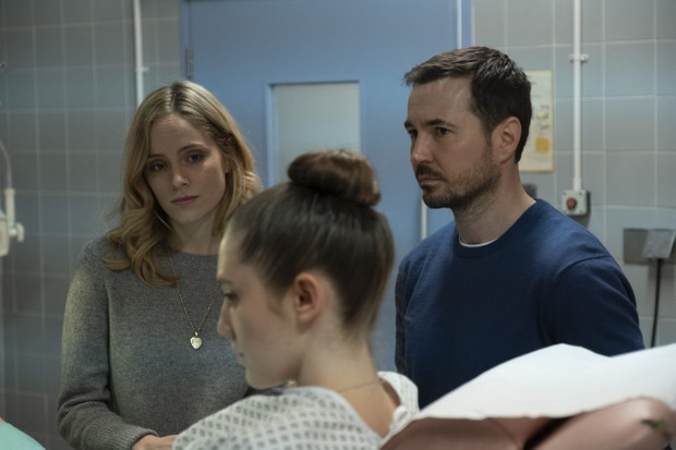 WARNING: Embargoed for publication until 00:00:01 on 17/03/2020 - Programme Name: The Nest - TX: n/a - Episode: n/a (No. 1) - Picture Shows: L-R Emily (SOPHIE RUNDLE), Kaya (MIRREN MACK), Dan (MARTIN COMPSTON) - (C) Studio Lambert - Photographer: Mark Mainz