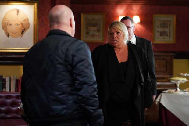 eastenders Sharon Mitchell phil mitchell