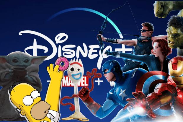 Disney Plus UK launch