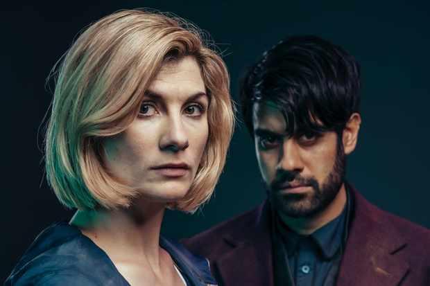 Doctor Who RT Jodie Whittaker Sacha Dhawan