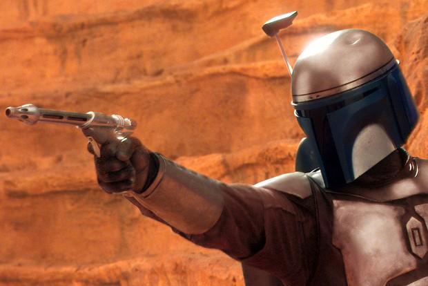 Jango Fett in Star Wars Episode II Attack Of The Clones