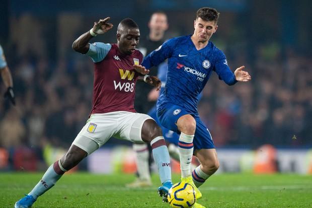 Marvelous Nakamba Mason Mount Aston Villa Chelsea