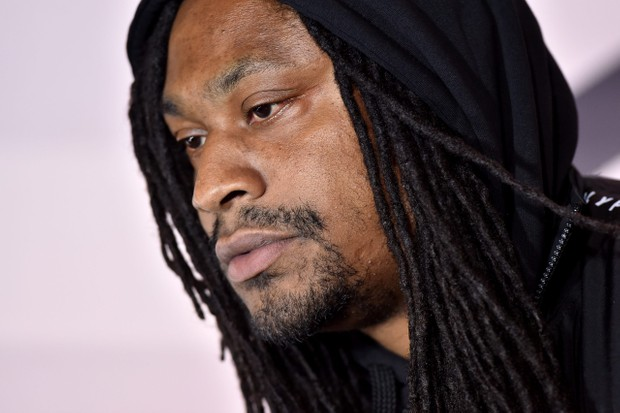 """HOLLYWOOD, CALIFORNIA - MARCH 05: Marshawn Lynch attends the premiere of HBO's """"Westworld"""" Season 3 at TCL Chinese Theatre on March 05, 2020 in Hollywood, California. (Photo by Axelle/Bauer-Griffin/FilmMagic)"""
