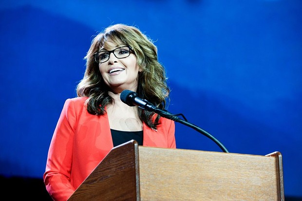Former Alaska Governor and 2008 Republican party Vice Presidential nominee Sarah Palin addresses the audience at the 2016 Western Conservative Summit in Denver, Colorado on July 1, 2016. / AFP / Jason Connolly        (Photo credit should read JASON CONNOLLY/AFP via Getty Images)