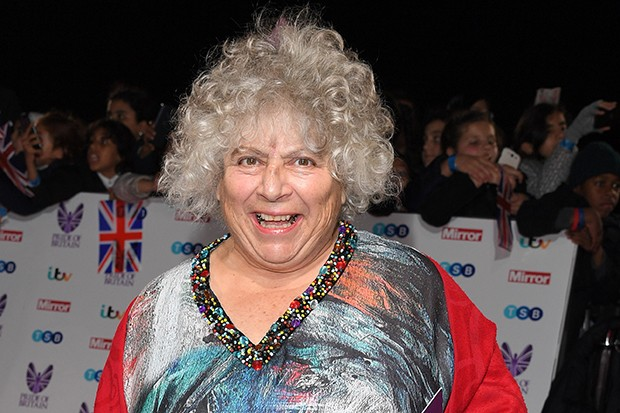 LONDON, ENGLAND - OCTOBER 31:  Miriam Margolyes attends the Pride Of Britain Awards at The Grosvenor House Hotel on October 31, 2016 in London, England.  (Photo by Karwai Tang/WireImage)