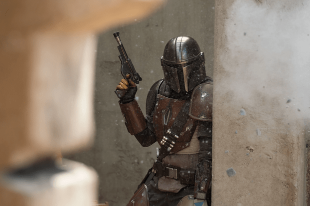 Pedro Pascal plays The Mandalorian on Disney Plus Star Wars spin-off