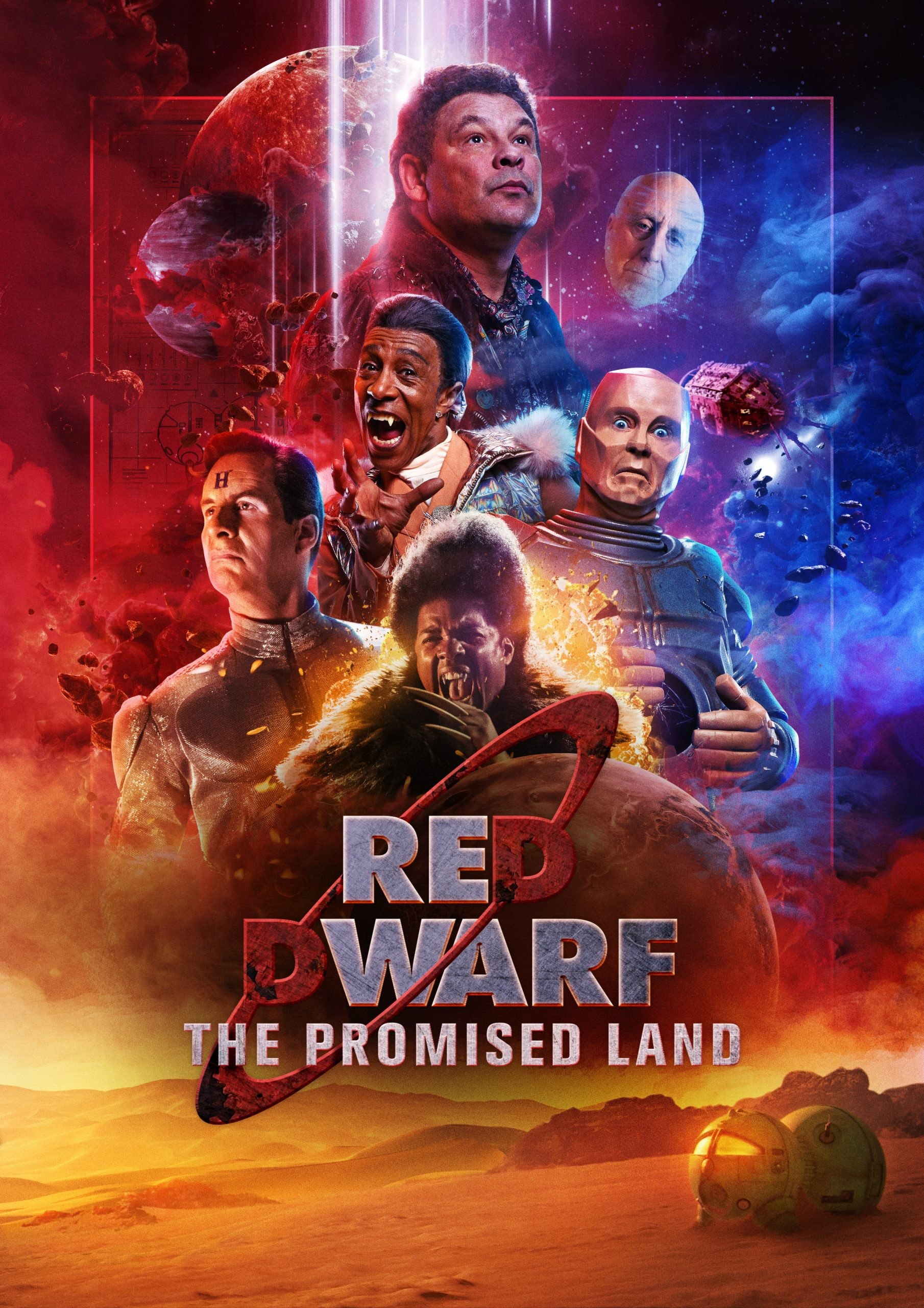 Red Dwarf: The Promised Land poster