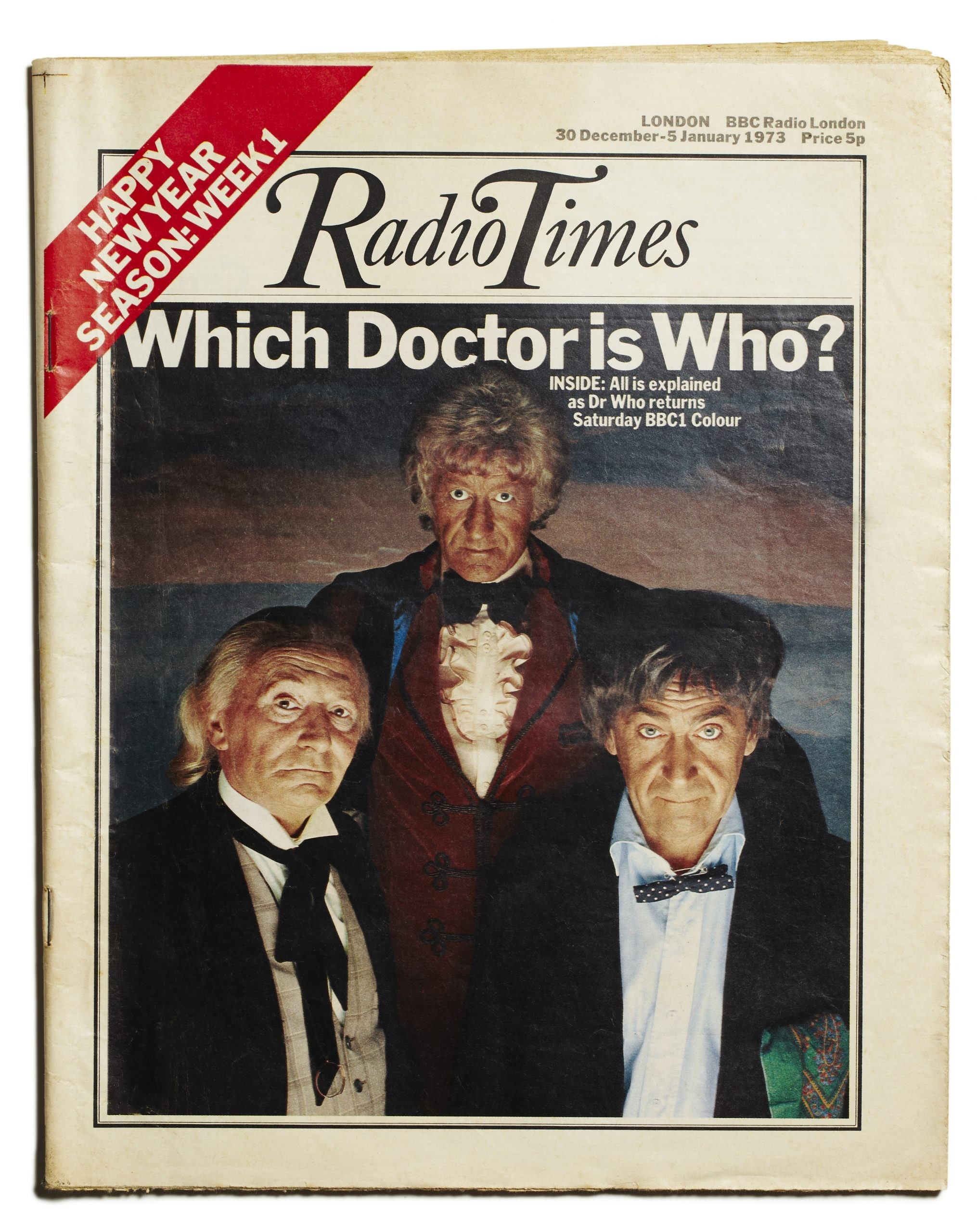 RT 1972 Troughton Three Doctors
