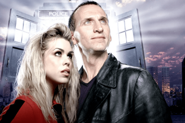 Christopher Eccleston and Billie Piper in Doctor Who (BBC)