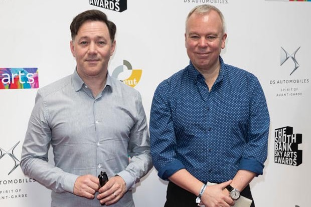 LONDON, ENGLAND - JULY 01:  Reece Shearsmith and Steve Pemberton attend The Southbank Sky Arts Awards 2018 at The Savoy Hotel on July 1, 2018 in London, England.  (Photo by John Phillips/Getty Images)