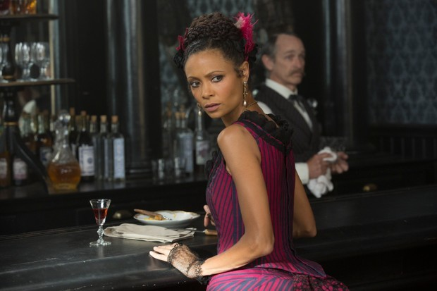 Thandie Newton as Maeve Millay in Westworld