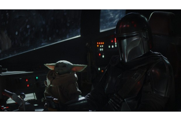 Scene from The Mandalorian