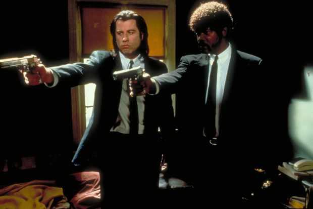 Pulp Fiction  Featuring John Travolta as Vincent Vega; Samuel L. Jackson as Jules Winnifield  © Buena Vista International