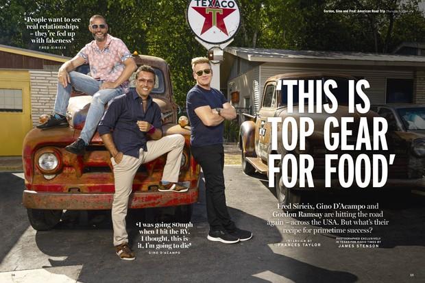WK14 Gordon, Gino, Fred