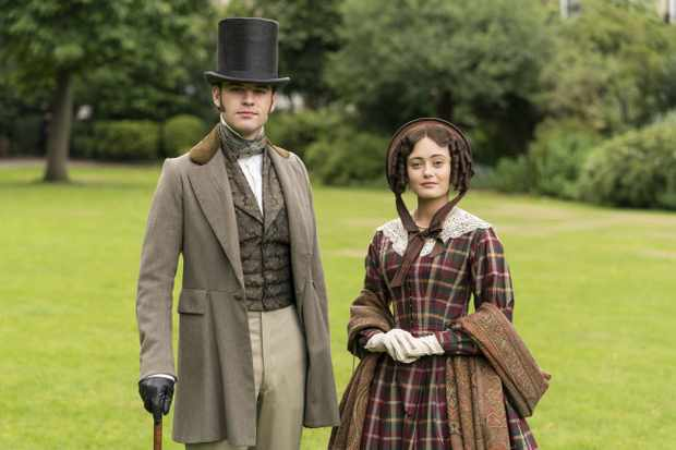 CARNIVAL FILMS PRESENTS FOR ITV  BELGRAVIA  Pictured: JACK BARDOE as Charles Pope and ELLA PURNELL as Lady Maria Grey.  This photograph must not be syndicated to any other company, publication or website, or permanently archived, without the express written permission of ITV Picture Desk. Full Terms and conditions are available on  www.itv.com/presscentre/itvpictures/terms   For further information please contact: Patrick.smith@itv.com 0207 1573044