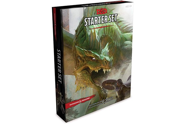 Dungeons and Dragons starter set board game
