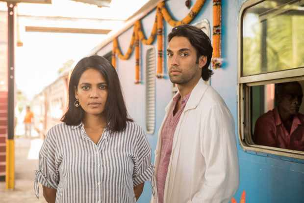 Priyanka Bose plays Aisha Ray, and James Floyd plays Gabriel Varma