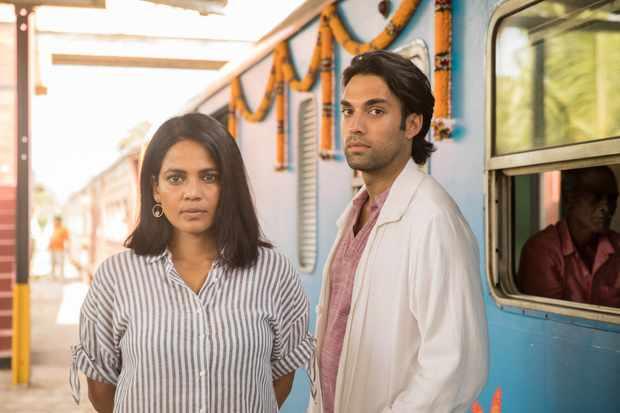 Priyanka Bose plays Aisha Ray, and James Floyd playsGabriel Varma