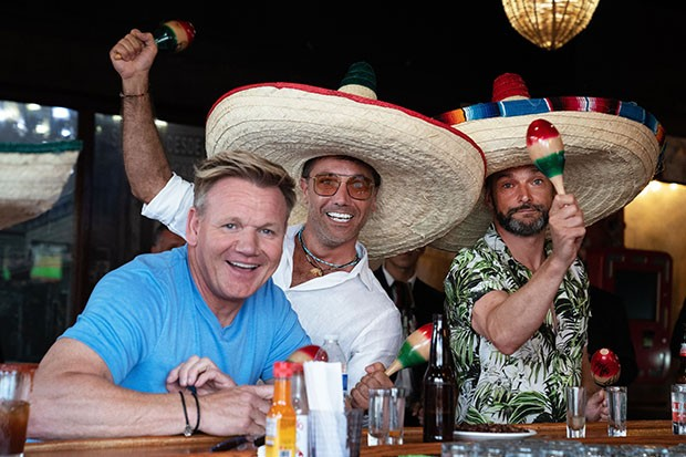 Gordon, Gino and Fred in American Road Trip