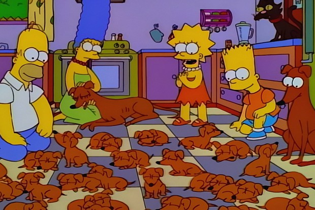The Simpsons - Two Dozen and One Greyhounds