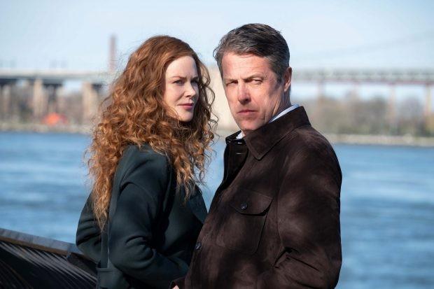Hugh Grant and Nicole Kidman in The Undoing (HBO/Sky Atlantic)