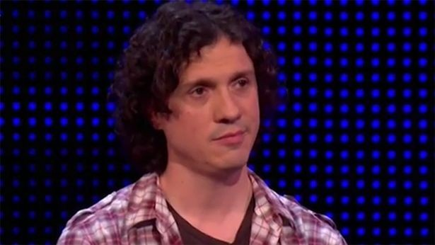 Darragh Ennis as a contestant on The Chase