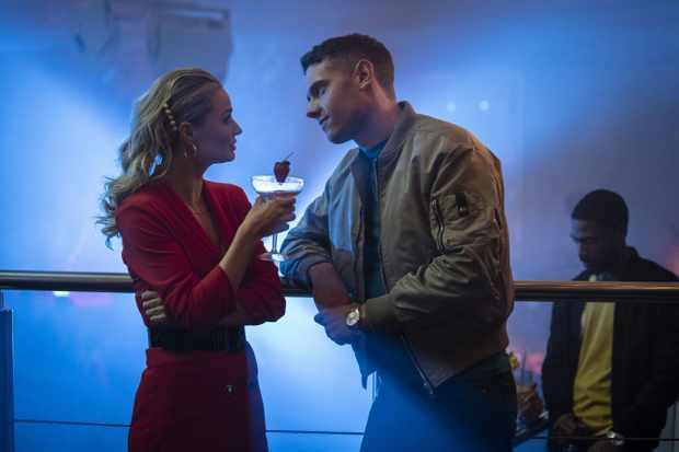 WARNING: Embargoed for publication until 00:00:01 on 02/04/2020 - Programme Name: Make Me Famous - TX: n/a - Episode: n/a (No. n/a) - Picture Shows:  Michelle (EMMA RIGBY), Billy (TOM BRITTNEY) - (C) Expectation - Photographer: Dean Rogers
