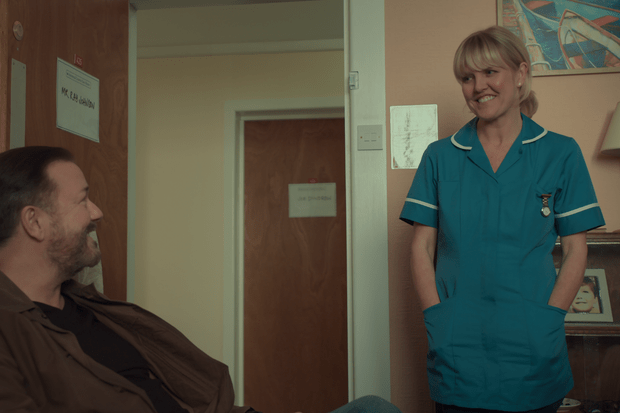 Ashley Jensen in After Life