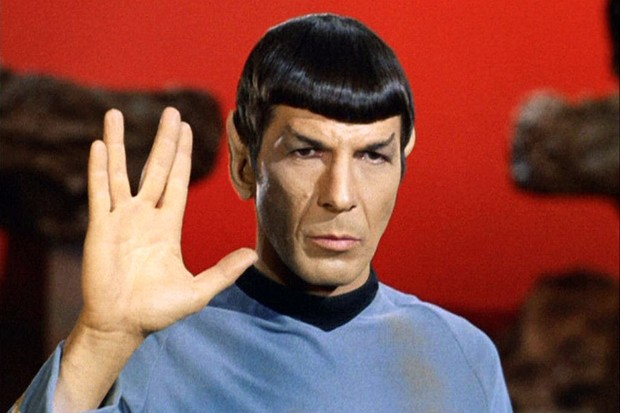 Leonard Nimoy as Mr Spock in the Star Trek TV series (Getty)
