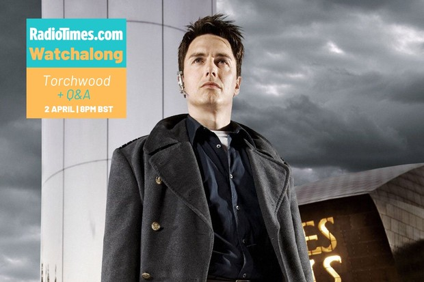John Barrowman as Captain Jack Harkness in Torchwood (BBC)