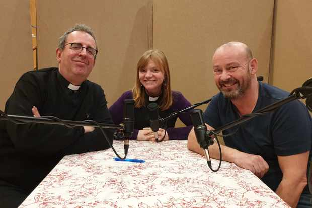 Three Vicars Talking: Rev Richard Coles, Rev Kate Bottley and Canon Giles Fraser