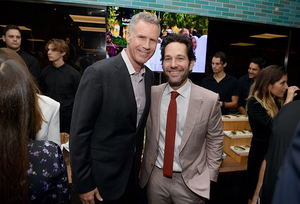WEST HOLLYWOOD, CALIFORNIA - NOVEMBER 14: (L-R) Will Ferrell and Paul Rudd attend the Hollywood Foreign Press Association and The Hollywood Reporter Celebration of the 2020 Golden Globe Awards Season and Unveiling of the Golden Globe Ambassadors at Catch on November 14, 2019 in West Hollywood, California. (Photo by Matt Winkelmeyer/Getty Images for The Hollywood Reporter)