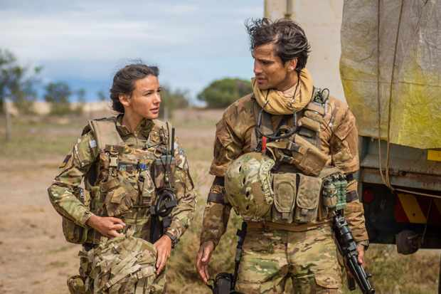 Our Girl - Georgie (Michelle Keegan), Elvis (Luke Pasqualino)
