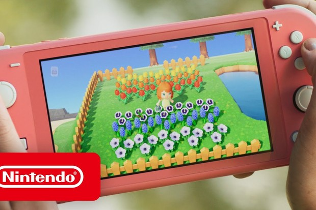 Nintendo Switch Lite With Animal Crossing New Horizons Back In