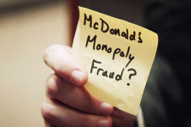 Documentary series chronicling the stranger-than-fiction story of an ex-cop turned security auditor who rigged McDonald's Monopoly game.