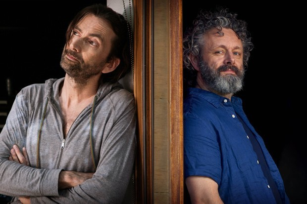David Tennant, Michael Sheen in BBC One Staged