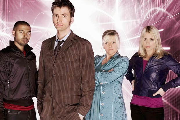 The cast of Doctor Who (BBC)
