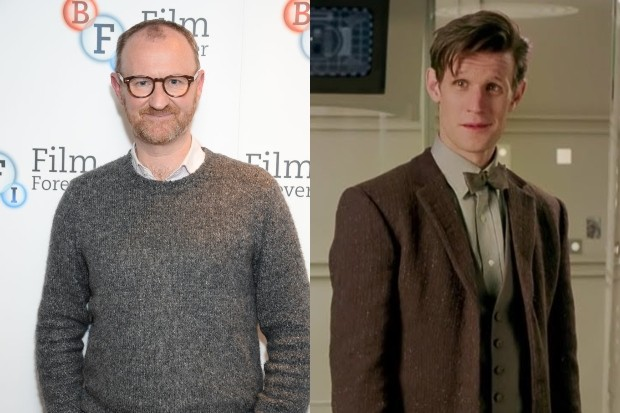 Mark Gatiss and Matt Smith (Getty, BBC)