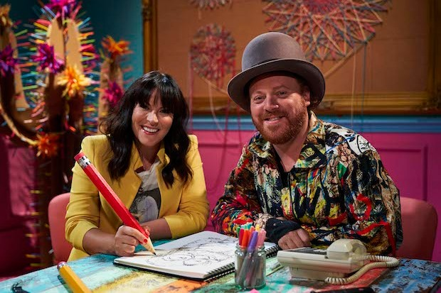 Keith Lemon and Anna Richardson (Credit: Channel 4)